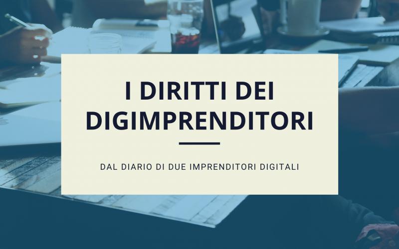 I diritti degli imprenditori digitali